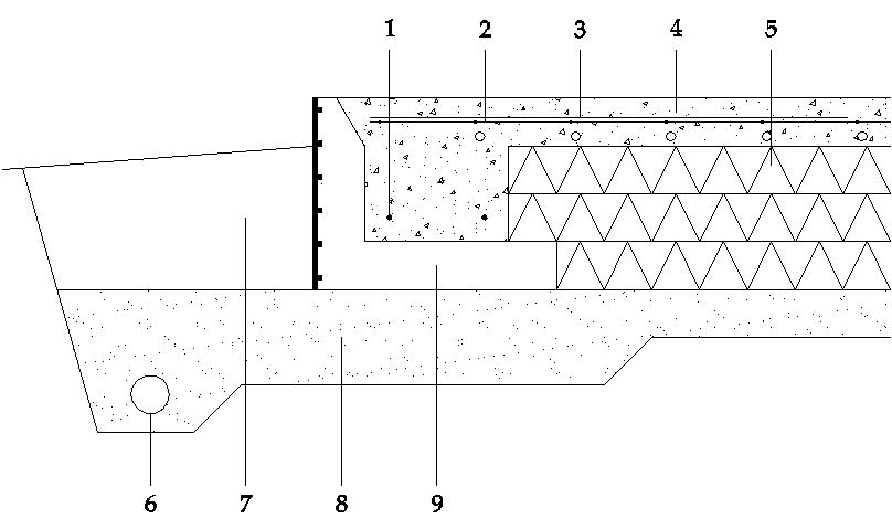 platta på mark ritning